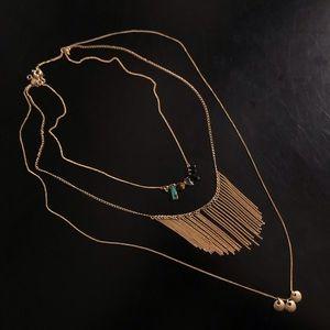 Madewell Three-Tiered Necklace